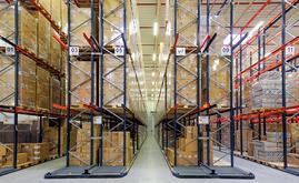 Le nouvel entrepôt de Huhtamaki peut stocker un total de 8 600 palettes