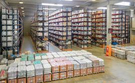 Le nouveau centre de distribution de Cromology de 22 000 m² avec une capacité de stockage de 35 000 palettes