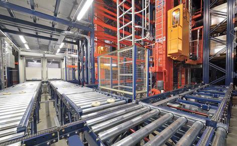 Mecalux construit un entrepôt automatique clé en main en Pologne pour une pharmaceutique japonais