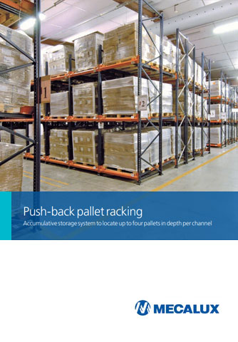 Push-back palletstellingen