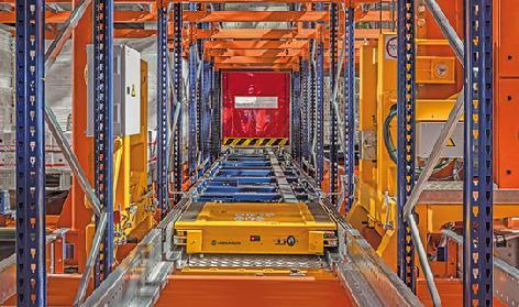 Pallet Shuttle automatique