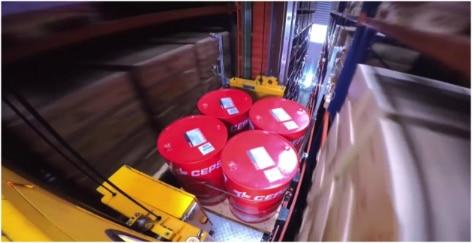 Mecalux bouwt een automatisch hoogbouwmagazijn van meer dan 4500 meter hoog voor Cepsa