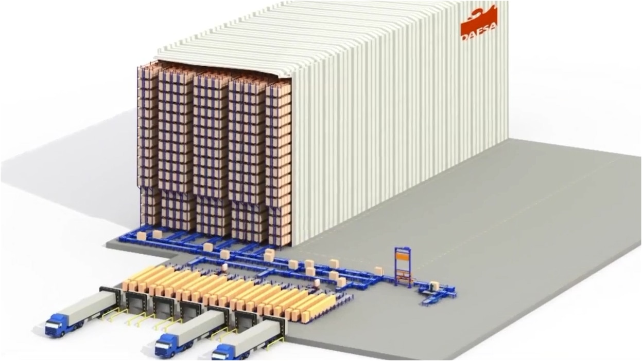 Automatisering voor pallets: Dafsa
