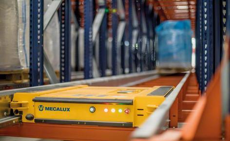 Pallet Shuttle : le stockage par accumulation semi-automatique