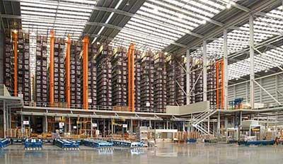 De Groep Pocelanosa heeft de bouw van zijn logistieke distributiecentrum toevertrouwd aan Mecalux