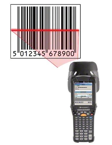 Het lezen van de streepjescode versnelt het identificatieproces