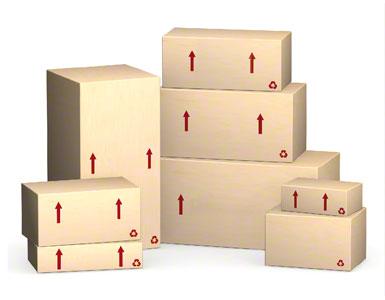 De door de leverancier verzonden doos