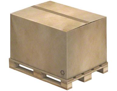 Voorbeeld van een pallet