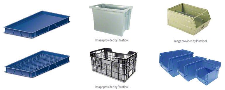 Er bestaan veel verschillende magazijnbakken al naargelang het product en het type opslag
