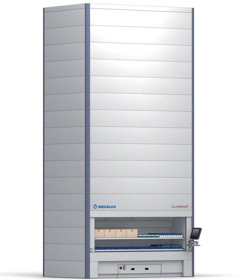 Automatisch verticaal magazijnsysteem (Clasimat)
