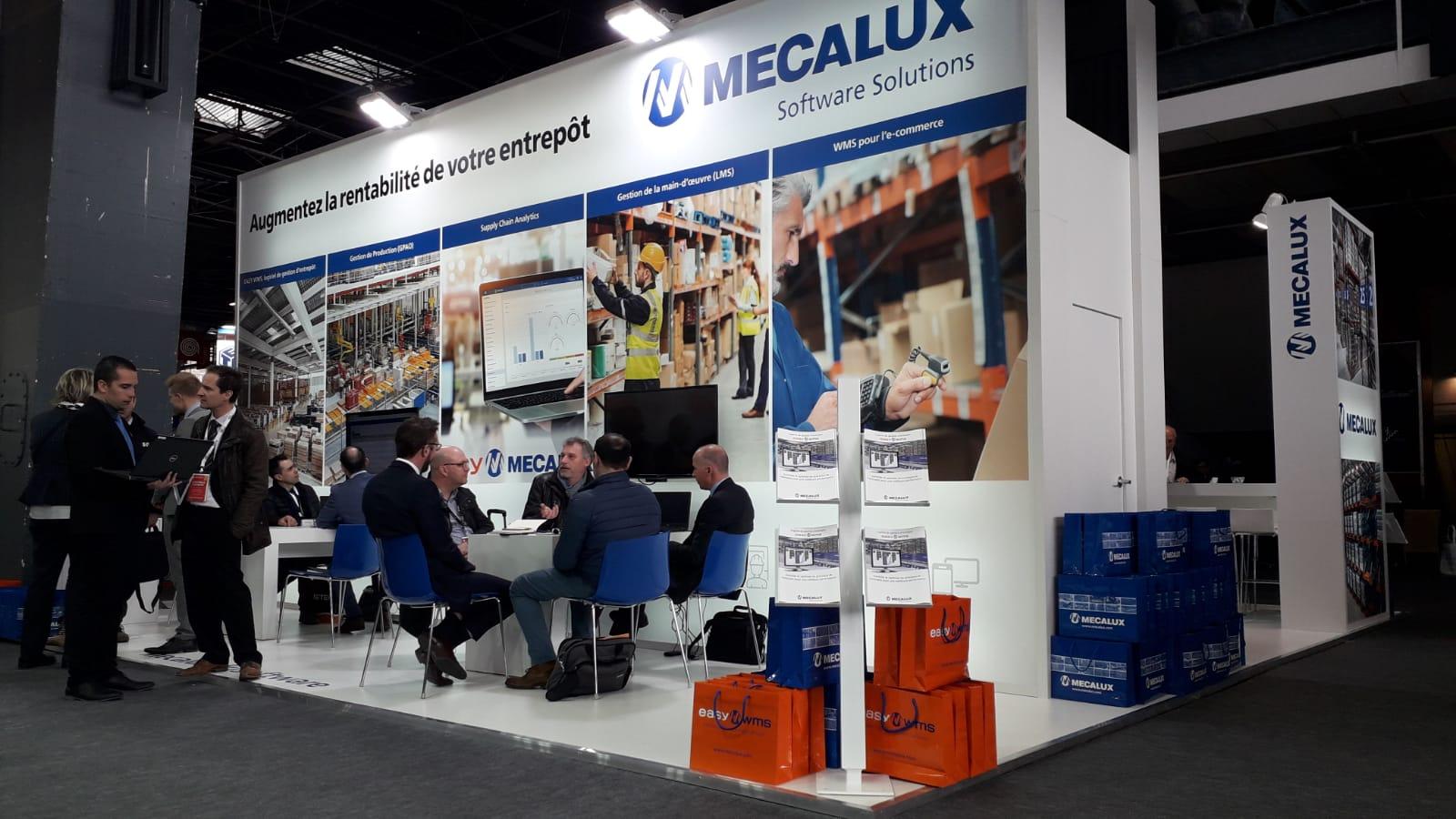 Mecalux participe à la prochaine SITL à Paris - Villepinte