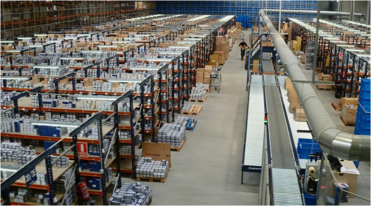Cas clients : Cofan a construit un entrepôt moderne sectorisé