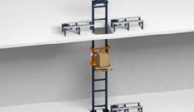 Transportbanden voor pallets