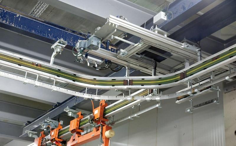 Les balancelles autom. sont dirigées par un logiciel de commande connecté au WMS