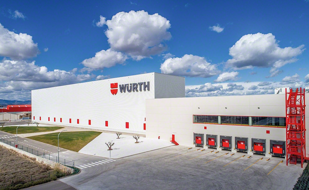 Automatisering voor pallets: Würth