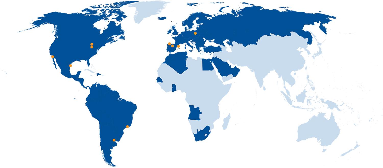 El Grupo en el mundo