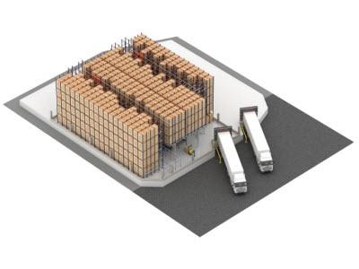 Pastelaria e Confeitaria Rolo installera le système Pallet Shuttle automatique