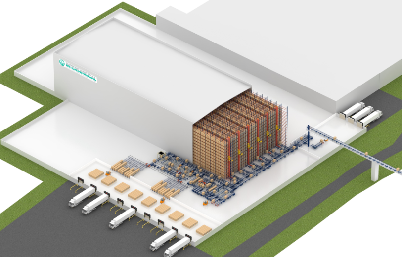 Entrepôt automatisé pour Intersurgical en Lituanie