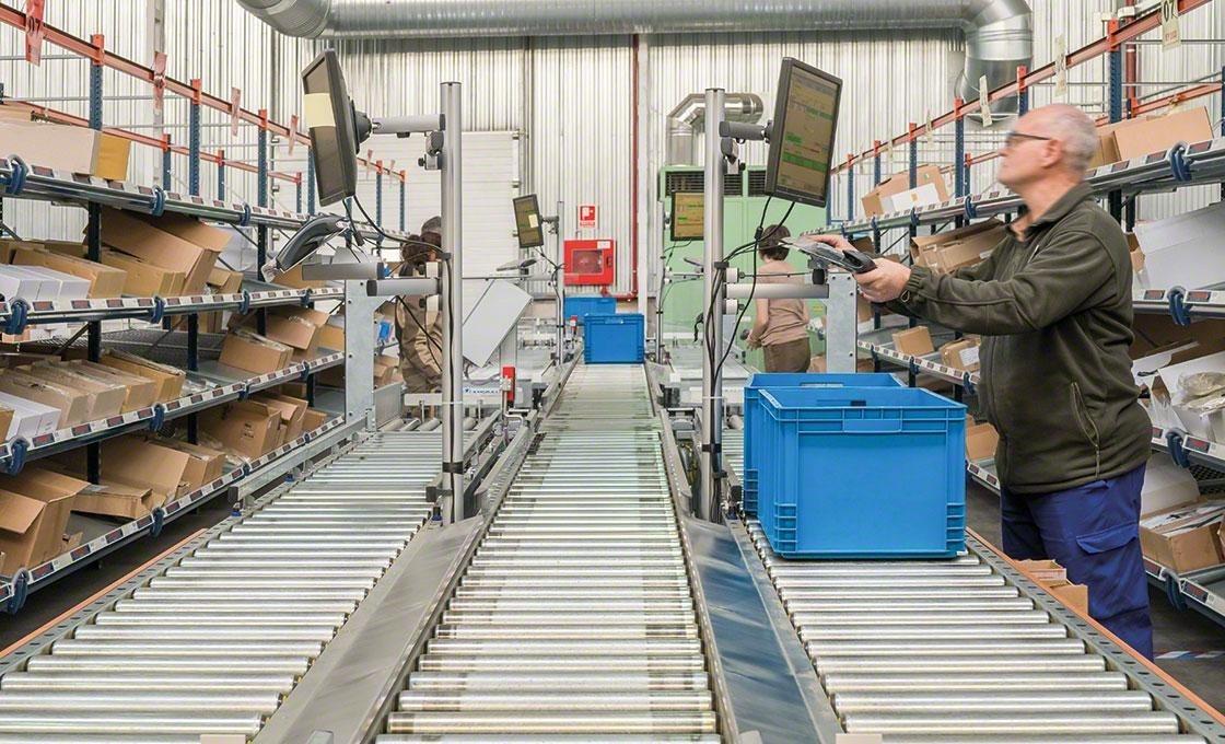 La logistique 4.0 favorise l'hyperconnectivité et l'usage d'appareils électroniques qui améliorent la gestion des flux de travail en entrepôt.
