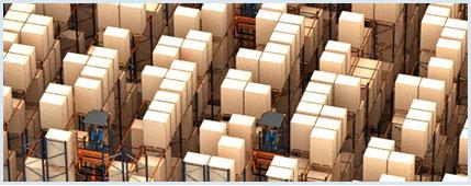 L'entrepôt pour palettes de l'opérateur logistique Barsan, en Belgique