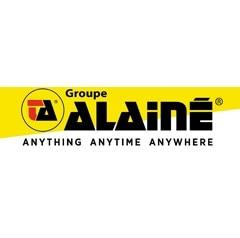 Het magazijn van de logistieke dienstverlener Groupe Alainé in Frankrijk