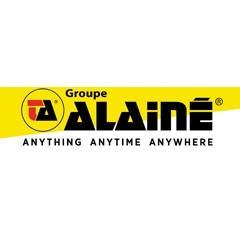 L'entrepôt de l'opérateur logistique Groupe Alainé en France
