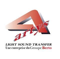 Magazijn van Artys in Frankrijk voor het beheer van audiovisueel materiaal