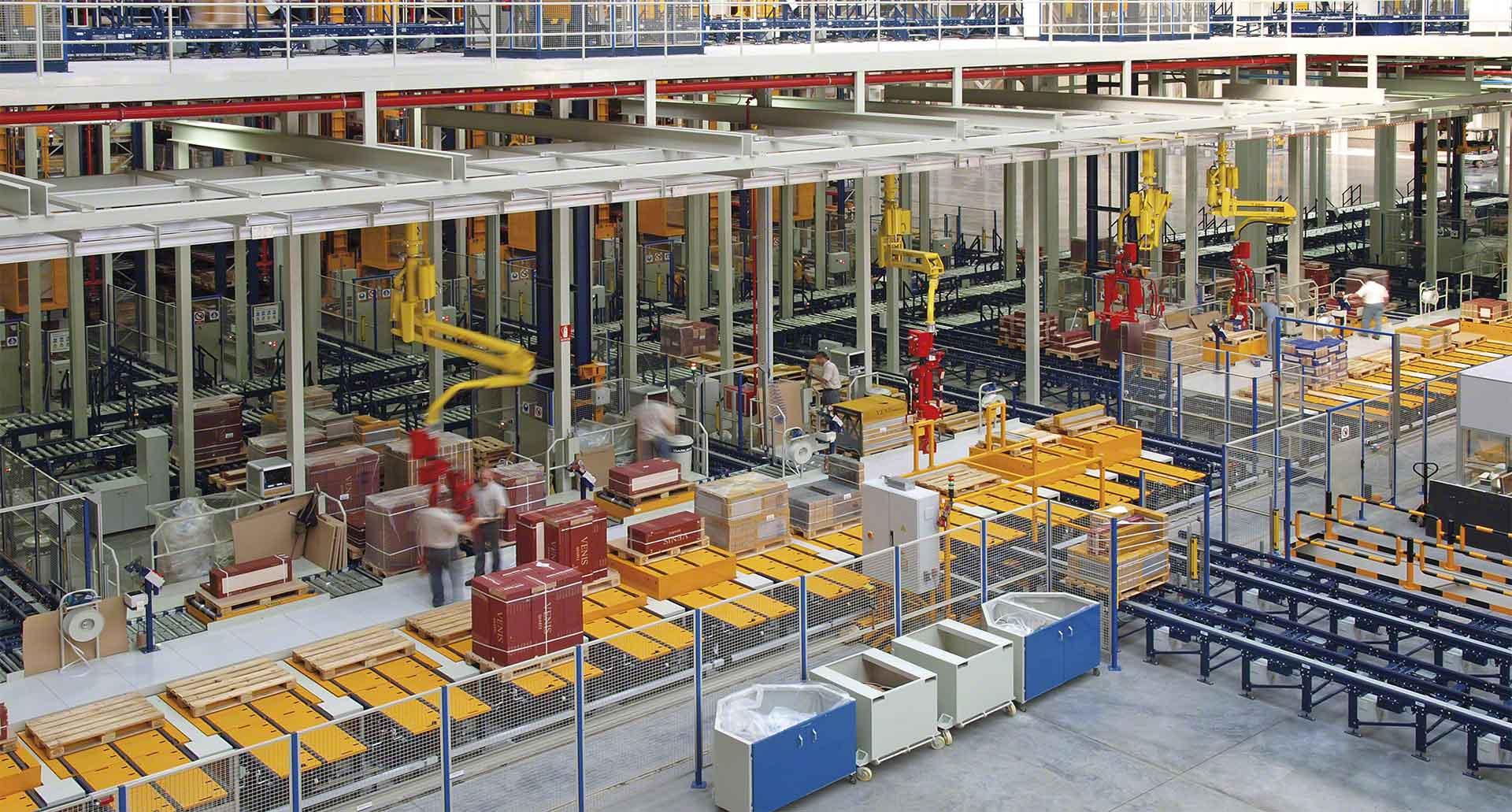 Grâce aux jumeaux numériques, il est possible d'obtenir une réplique très précise du fonctionnement de l'entrepôt