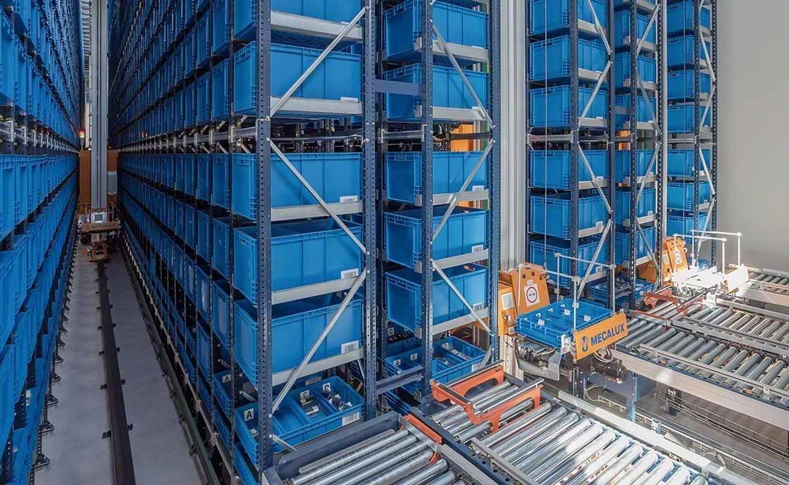 La méthode de préparation de commandes logistiques Goods to Man utilise des solutions automatisées.