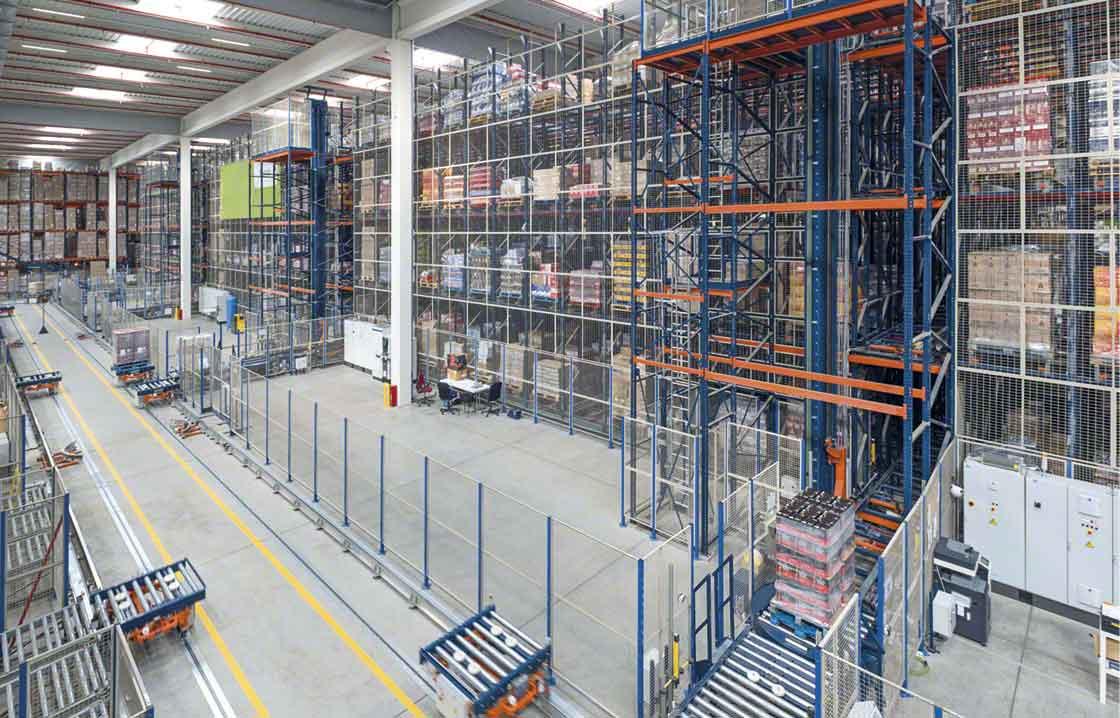 L'automatisation est une solution efficace pour créer une zone tampon ou une zone de stockage temporaire des marchandises