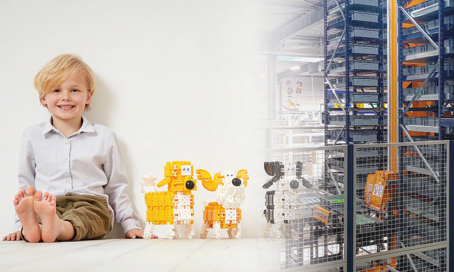 Clics Toys: automatisch beheer van de productie van 150 miljoen bouwblokjes per jaar