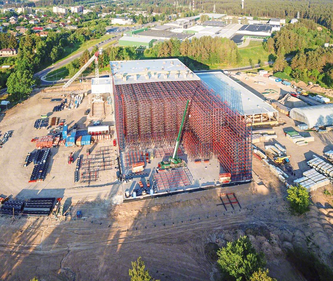 Le nouveau centre automatisé d'Intersurgical en Lituanie fait office de hub logistique